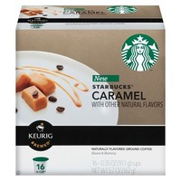 Starbucks Carmel Coffee K-Cup 16 ct