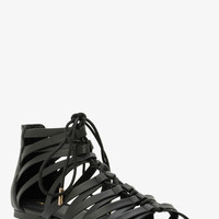 Lace-Up Gladiator Sandals (Wide Width)