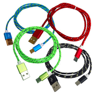 High Speed Micro USB Fast Charging Cable for Samsung LG HTC & Other Smartphones