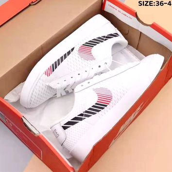 NIKE W BLAZER LOW Tide brand 3D multilateral diamond-shaped breathable sports shoes
