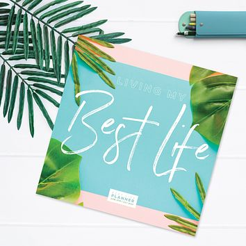 Best Palms Large Academic Monthly Planner