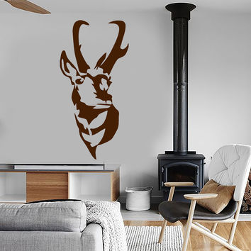 Wall Stickers Vinyl Decal Deer Animal Hunt Hunter Tribal Decor Unique Gift (ig133)