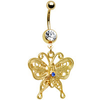 Fashion Flutter Butterfly Belly Ring | Body Candy Body Jewelry