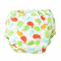 Baby Terry Cloth Diaper - Birdie