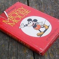 Vintage The Adventures of Mickey Mouse 3 stories Disney 50th Birthday Edition 1978