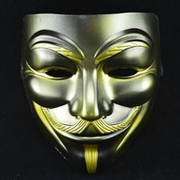 10pcs Halloween Cool Masks V For Vendetta Anonymous Movie Guy Fawkes Vendetta Mask Cosplay Costume