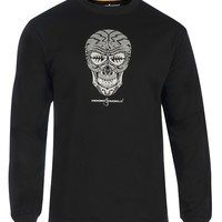 Men's Skullfish L/S UV Fishing T-Shirt
