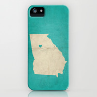 Atlanta, Georgia iPhone & iPod Case by Amy Nelson