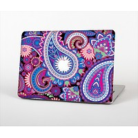 "The Vibrant Purple Paisley V5 Skin Set for the Apple MacBook Pro 15"" with Retina Display"