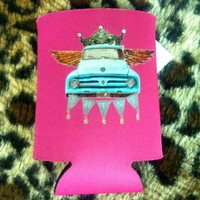 Shine truck queen koozie from PeaceLove&Jewels