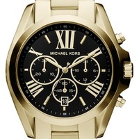 Women's Michael Kors 'Bradshaw' Chronograph Bracelet Watch, 43mm
