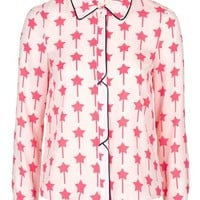 Star Print Shirt - Sale & Offers