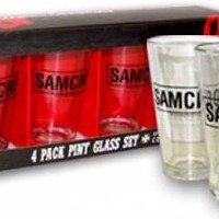 Sons Of Anarchy Pint Glasses - SAMCRO