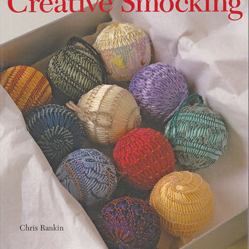 Book - Creative Smocking - Contemporary Design - Traditional Techniques