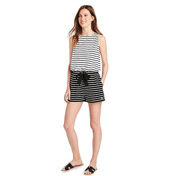 Mixed Stripe Romper by Vineyard Vines
