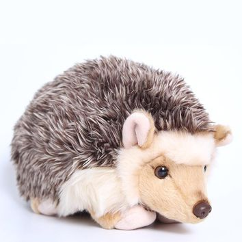 The simulation of the Hedgehog Animal Doll plush toys for Christmas gift  2018.3 High quality