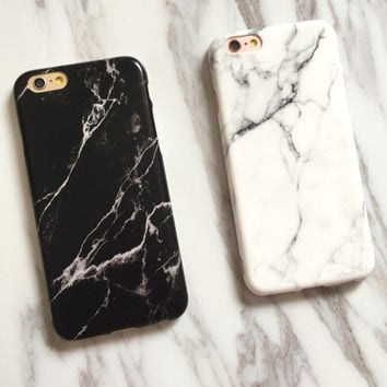 Marble Case foriPhone 7 7Plus & iPhone 6s 6 Plus Cases + Free Gift Box-516