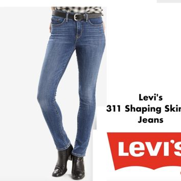✅NEW! Levi's Women's 311 Shaping Stretch Skinny Jeans VARIATION Choose Color & Size