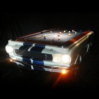 Limited Edition 1965 Shelby GT 350 Pool Table