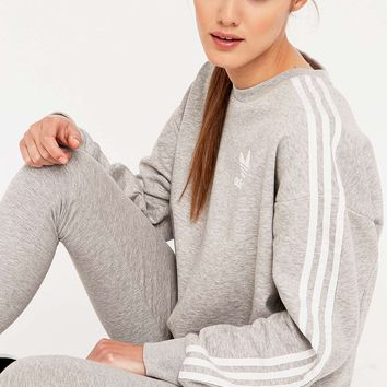 Adidas Classic Grey Sweatshirt - Urban Outfitters