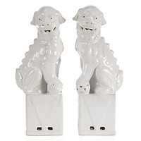 Ceramic Foo Dogs | Objects-of-art | Decorative-accessories | Accessories | Decor | Z Gallerie
