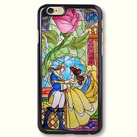 Pink Peri™ Beauty and the beast with Rose Hard Phone Case For Samsung S4 cases