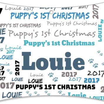 Personalized Puppy's/Kitty's 1st Chritmast Ornament-- 2017