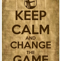 Keep Calm and Change the Game DIY Printable by ClickableParty