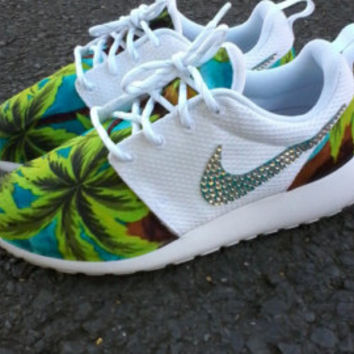 Custom Nike Roshe Run One Yeezy 350 athletic running shoes