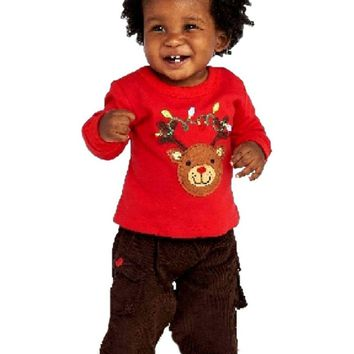 Mudpie-Reindeer 2 pc Set