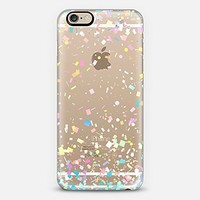 Casetify Pastel Confetti Explosion Transparent iPhone 6 Case