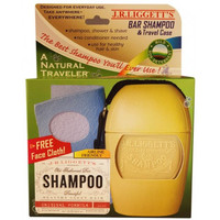 J.R. Liggett's Shampoo Bar - A Natural Traveler w/ 3.5 oz. Original Bar
