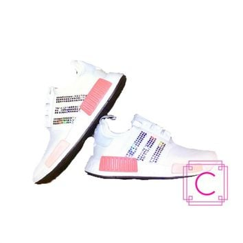 Women's Adidas NMD R1 with SWAROVSKI? Xirius Crystals