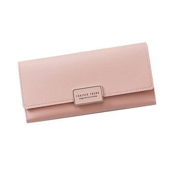 2018 New Wallet For Girls Women Standard Wallet Beautiful Purses Fashion Lady Women Long Purse Clutch Crown PU Leather Wallet