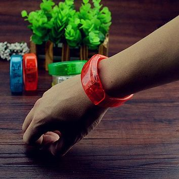 Voice Control LED Light Glows Wristband