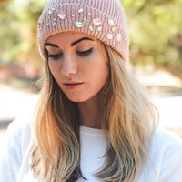 Jeweled Beanie