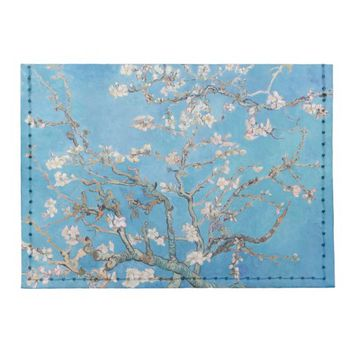 Almond Blossoms Blue Vincent van Gogh Art Painting Tyvek® Card Wallet