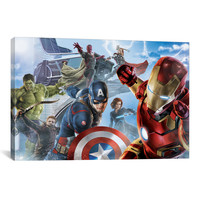 Marvel Comics AVENGERS & THE VISION, MOVIE POSTER