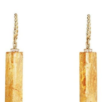 David Yurman Bijoux Fine Bead and Chain Earrings with Imperial Topaz | Nordstrom
