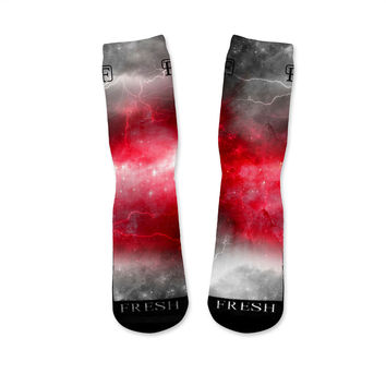 Red Storm Custom Fresh Sock Version 1