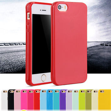 For iphone 4 4S Case Fashion Candy Shockproof Cell Phone Protective Cover
