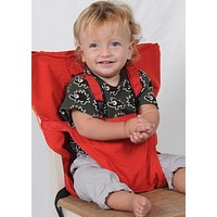 Portable Baby High Chair Harness