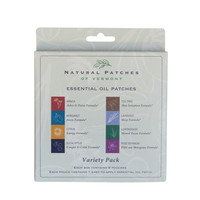 Natural Patches of Vermont - Aromatherapy Body Patch Essential Oil Variety Pack