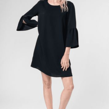 Women's Bell Sleeve Shift Dress
