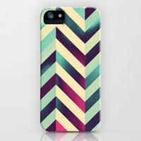 Chevronia XV iPhone & iPod Case by Rain Carnival