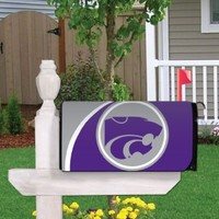 Kansas State University Magnetic Mailbox Cover (Design 3)