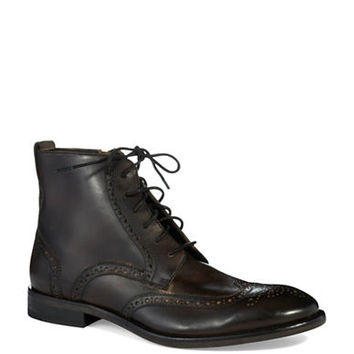 John Varvatos U.S.A. Dearborn Leather Wingtip Boots