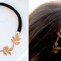 Olive Leaf Metal Headband | Sassy Steals