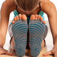 Yoga Socks | Non Slip Toeless Yoga Socks - Gaiam
