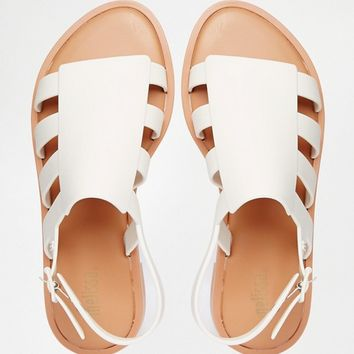 Melissa Bohemia Strappy Flat Sandals at asos.com